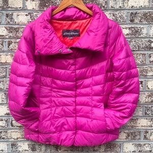 Eddie Bauer Goose Down Packable Coat Jacket